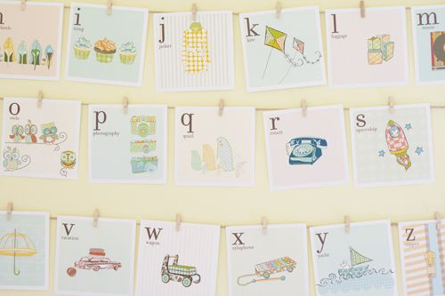 "Ridiculously cute alphabet flashcard printables... I'm loving ""S is for Spaceship"""