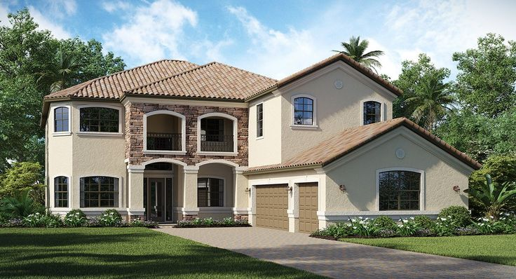 The Chapel Hill New Home Plan in Bonita National: Estate Homes by Lennar