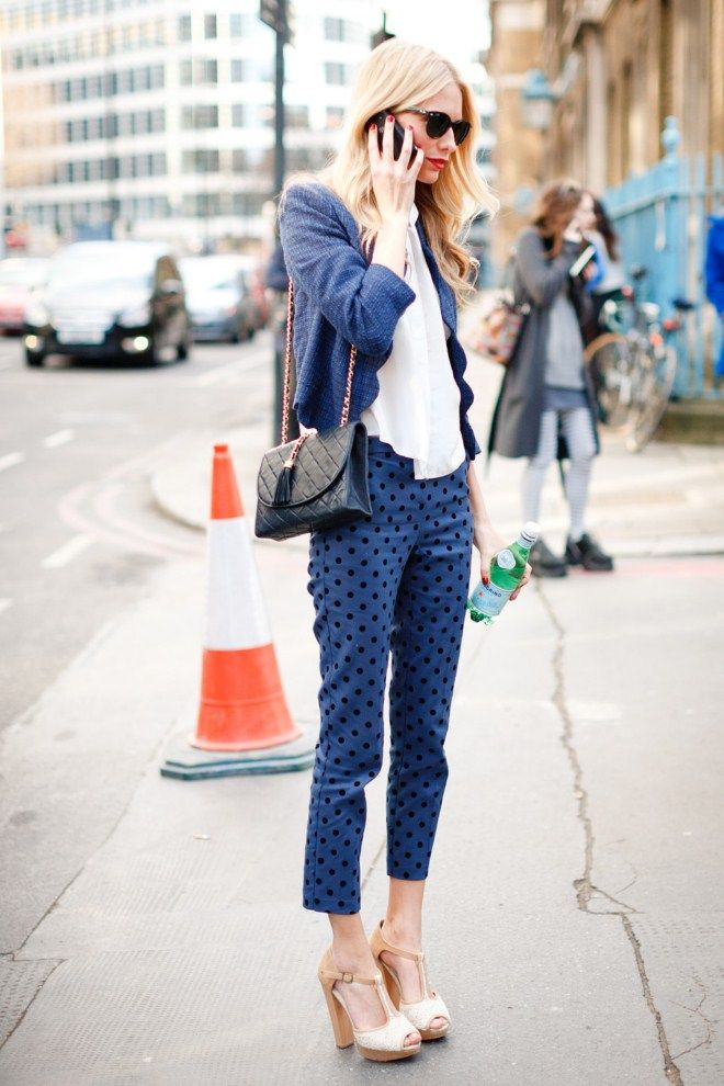 navy is the new black for Spring