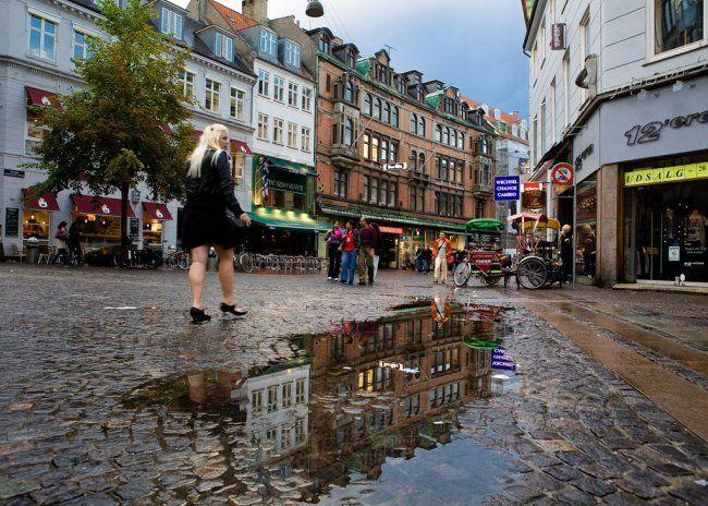 Copenhague: Strøget, la calle peatonal más larga de Europa.