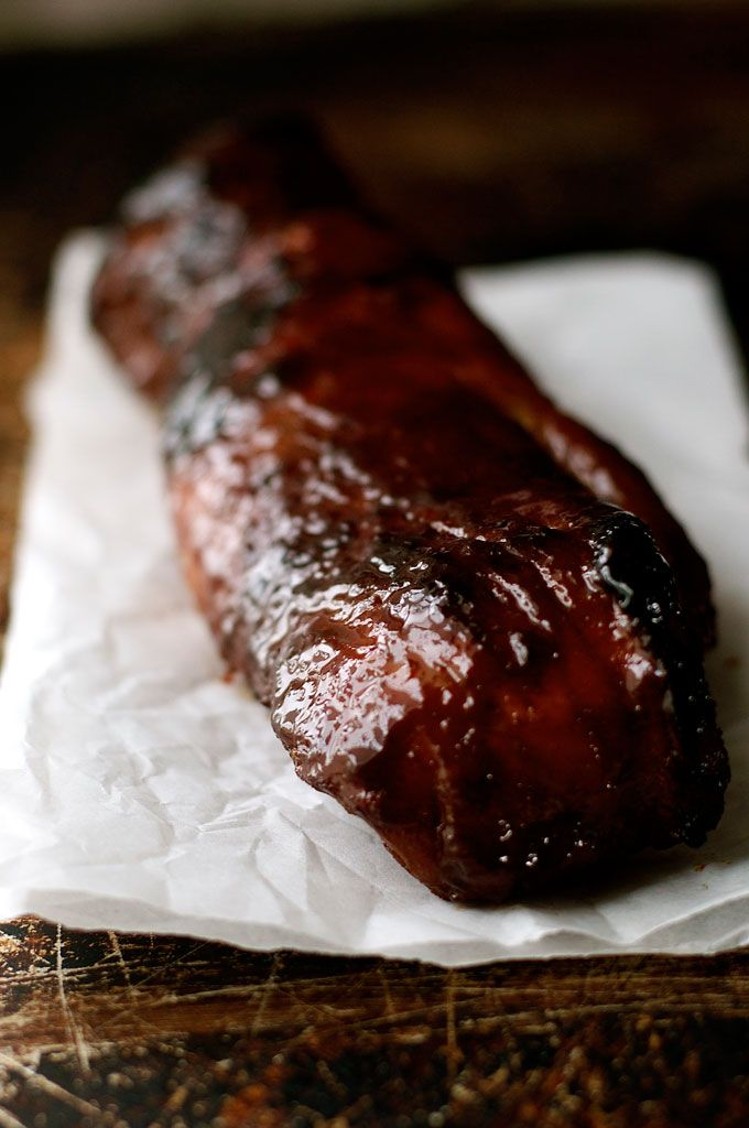 Char Siu (Chinese BBQ Pork) - the sticky pork hanging from hooks in Chinese BBQ shopfronts is SO easy to make at home!