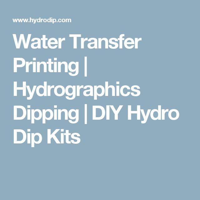 Water Transfer Printing | Hydrographics Dipping | DIY Hydro Dip Kits
