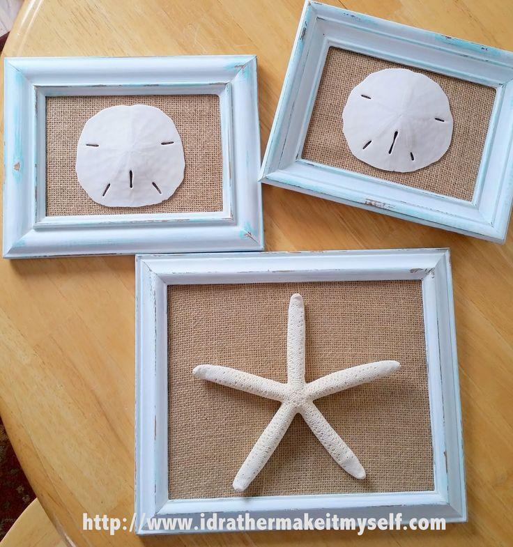 Diy Seashell Bathroom Decor : Ideas about seashell bathroom decor on