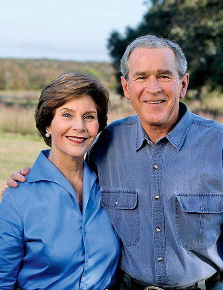 Portrait: David Woo/courtesy of the George W. Bush Presidential Center