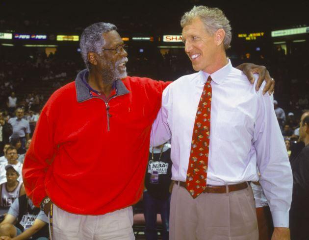 Bill Russell and Bill Walton
