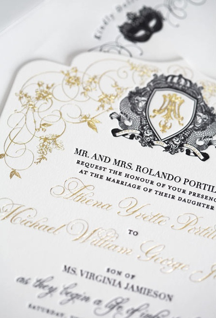 40 best engraved stationery images on pinterest contact paper gold foil stamp gold monogram engraving die cut letterpress wedding invite stopboris Choice Image