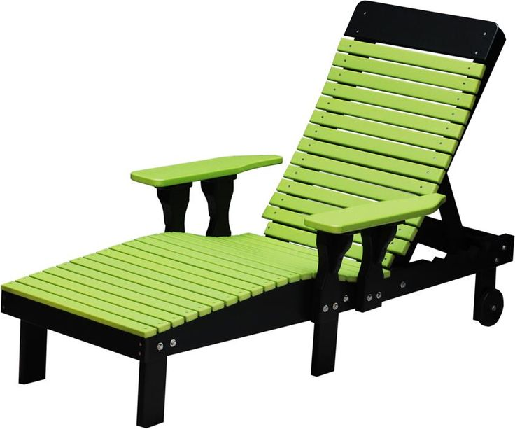 Amish Poly Wood Lounge Chair