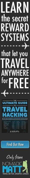 how to travel the world by nomadic matt
