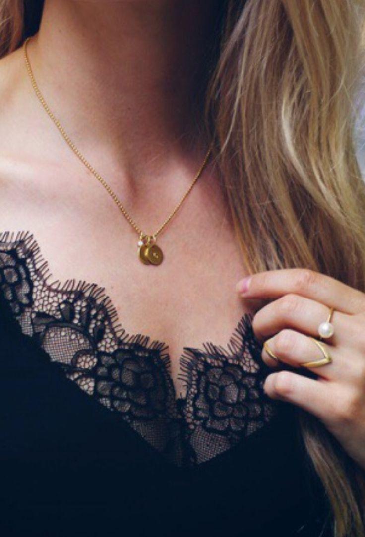 Jane Kønig love tag necklace