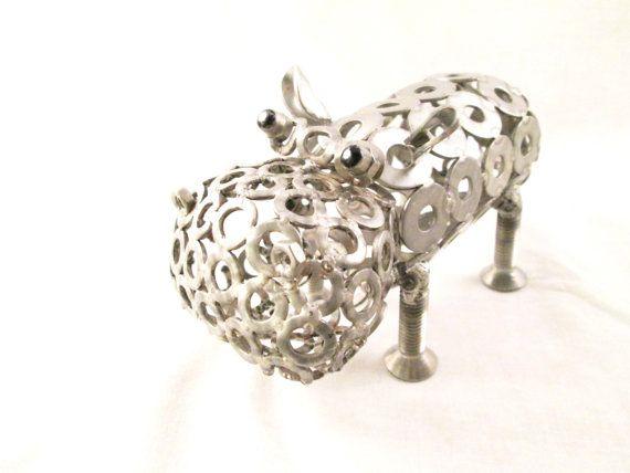 ippopotamo fantasy  ippopotamoscultura  scultura di stevieacciaio