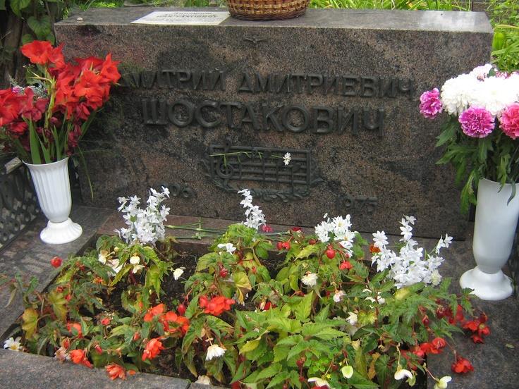 Dmitrij Dmitrievič Šostakovič - Cimitero di Novodevičij, Mosca