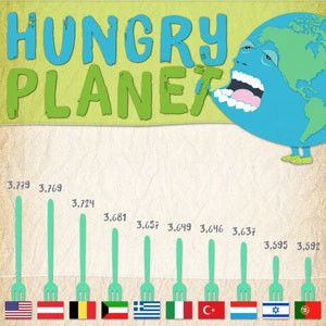 Hungry Planet: Consumption Around the Globe