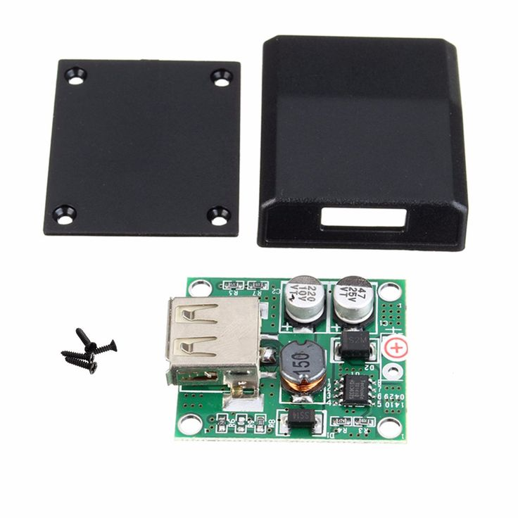 High Conversion Efficient USB Junction Box Solar Panel Micro USB Voltage Controller Converter Regulator for Charger 5V-18V to 2A