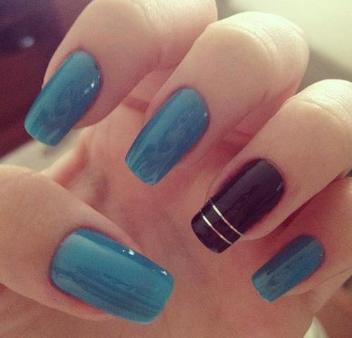 72 best do it yourself girls manicure images on pinterest nails colors and designs i love matte black with a gold kiss socialbliss find this pin and more on do it yourself girls manicure solutioingenieria Gallery