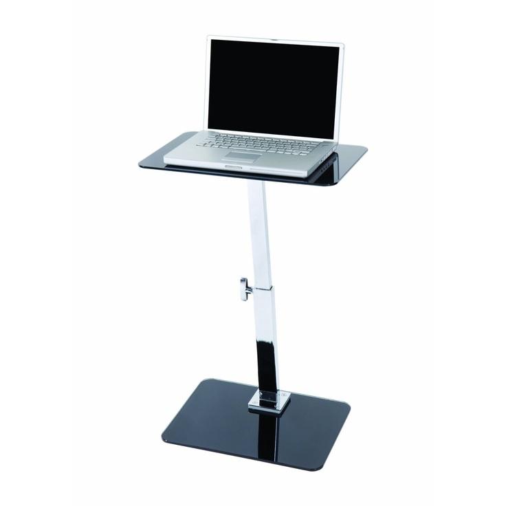 LEVV Adjustable Laptop Table - Black/ Chrome: Amazon.co.uk: Amazon Warehouse Deals