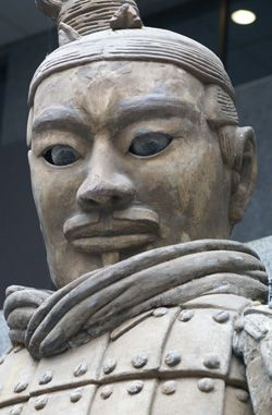 Terracotta Warriors, Xian, China.