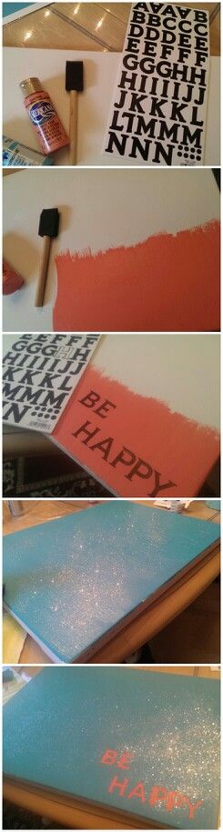 I would use pink and Tiffany blue, but it's a super cute idea!