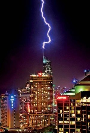 Cover photo: Lightning strikes Q1 Building, Queensland Gold Coast Patience is a photographic virtue.