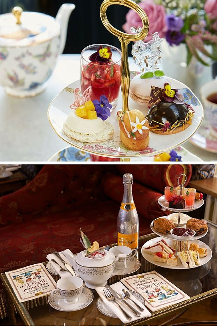 Bank Holidays mean relaxation, treats and tea. There's loads of lovely afternoon teas on offer in London at the moment. And they're not all just your traditional scones and cream (not that there's anything wrong with that). There are lots of sandwiches and English desserts on the menu to have the perfect tea outing or party.