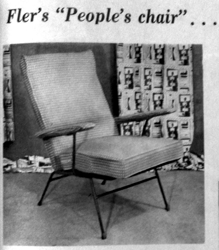 The People's Chair (1956) designed and manufactured by Fler, Melbourne
