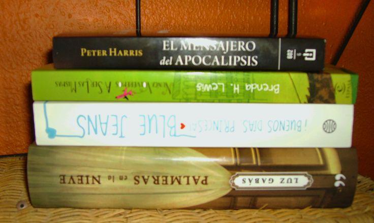 El mensajero del Apocalipsis, Nunca volveremos a ser las mismas, Buenos días, princesa, Palmeras en la nieve. http://hidden-book.blogspot.com.es/2012/08/imm-4.html