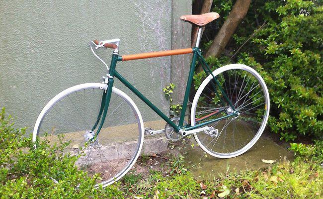 Vélo singlespeed Moser, cadre Vitus style vintage