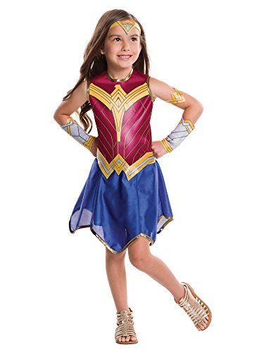 Rubies Costume Batman vs Superman: Dawn of Justice Wonder Woman Value Costume @ niftywarehouse.com