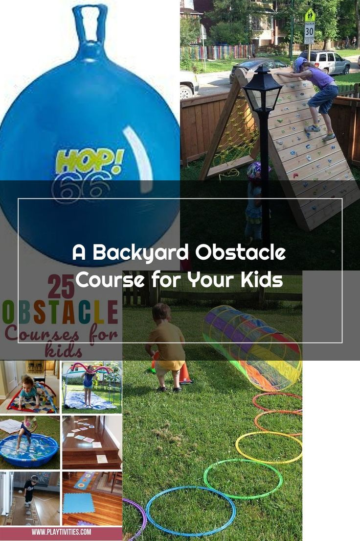 A Backyard Obstacle Course for Your Kids in 2020 ...