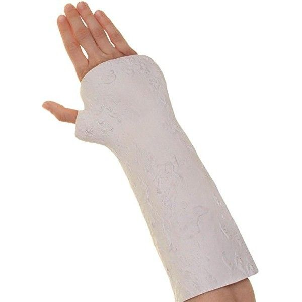 Novelty Fake White Broken Arm Cast Glove Realistic Fancy Dress... ($16) ❤ liked on Polyvore featuring accessories, gloves, fancy gloves, faux-fur gloves, dressy gloves, white gloves and synthetic gloves