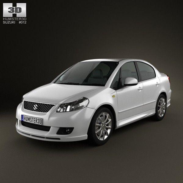 Sedan Suzuki Maruti 3D Model - 3D Model