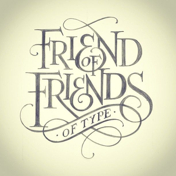Friend of Friends scripted type treatment