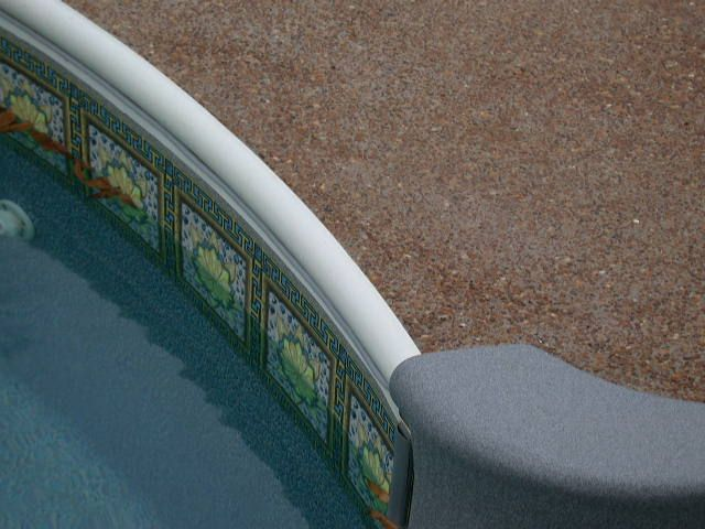 Diffe Options For Swimming Pool Coping Pinterest Pools And Exposed Aggregate