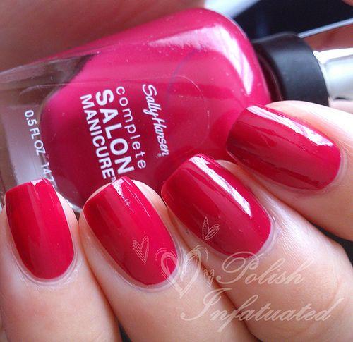 Sally Hansen Complete Salon Manicure: Berry Important
