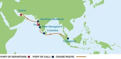 Goa   2015.04.11.   Mumbai-tól délre kb. 600 kilométerre fekszik a Goa félsziget, itt található Mormugao, ahol a hajónk kikötött.   Goa a 25. tartománya lett Indiának, miután visszaszerezték a portugáloktól 1961-ben..   A hatalmas ország nyugati peremén, az Arab-tenger partján elterülő GOA múltja igen érdekes. Az...