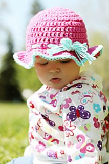 6-9 Month Sun Hat by Corina Gray  Published in Stitch11