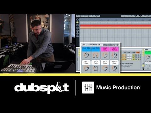 Ableton Tutorial: Trap Music Patterns - How to Build an Instrument Rack for Drum Programming Pt 1 - YouTube