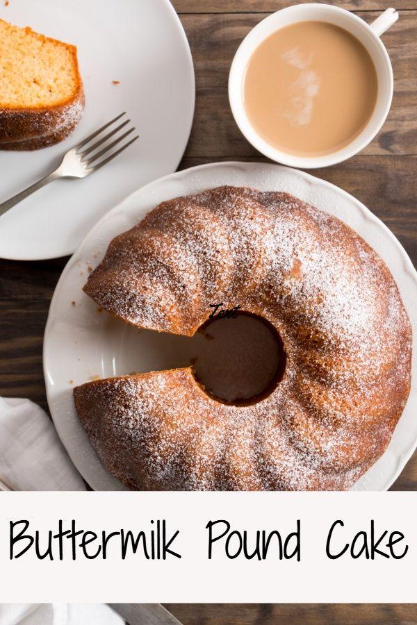 Buttermilk Pound Cake Recipe Pound Cake Recipes Buttermilk Pound Cake Homemade Buttermilk
