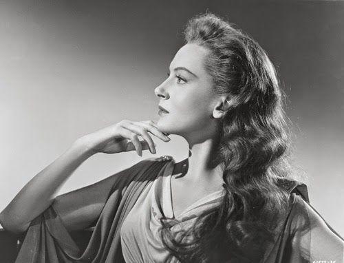 "Vintage Glamour Girls: Deborah Kerr in "" Julius Caesar """