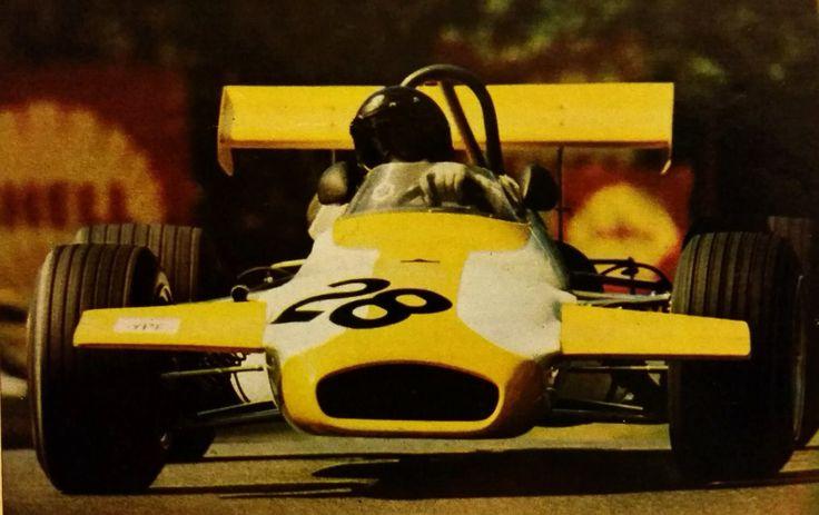 Carlos Reutemann, Brabham BT30, Formula 2, 1971.