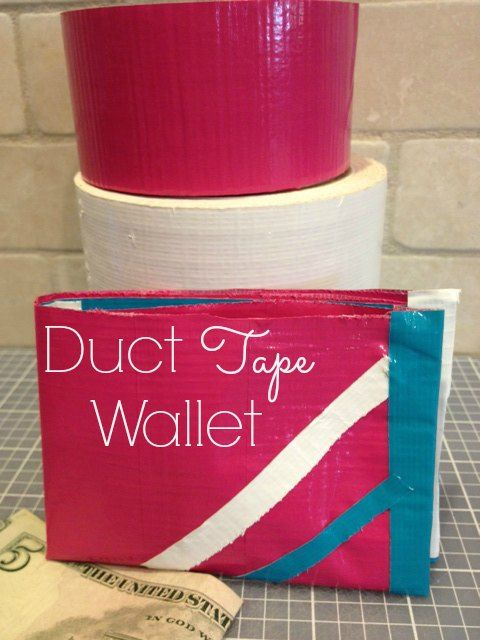 Duct Tape Wallet Tutorial By Seven Clown Circus