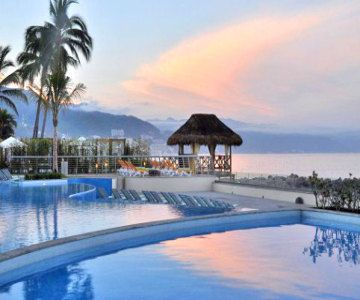 Puerto Vallarta Vacations - Fiesta Americana Puerto Vallarta All-Inclusive Resort. The natural elements create a sense of jungle allure and timeless charm. Awarded AAA 4-Diamond Award for 7 consecutive years!