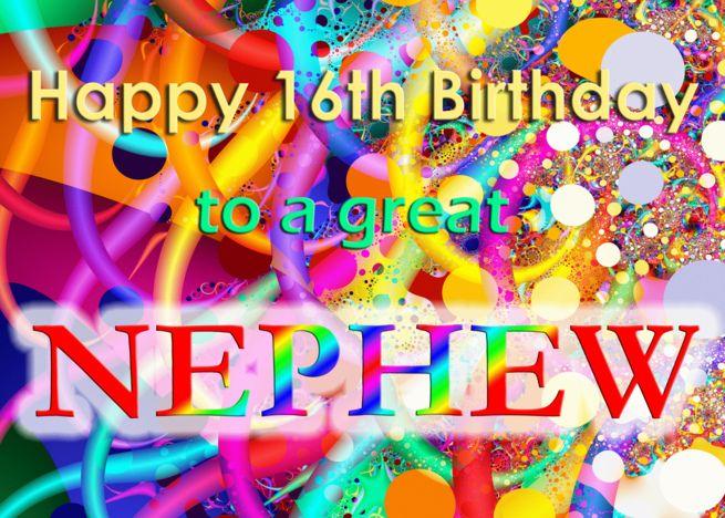 Happy 16th Birthday Nephew Card Ad Sponsored Happy Birthday Card Nephew Happy 17th Birthday Happy 16th Birthday Nephew Birthday