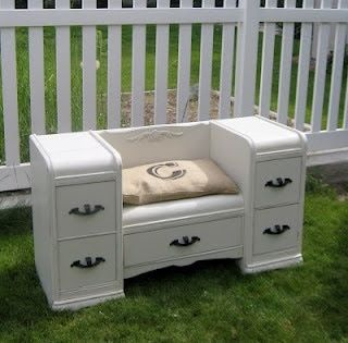 The newest post is up for repurposing furniture. Check it out!