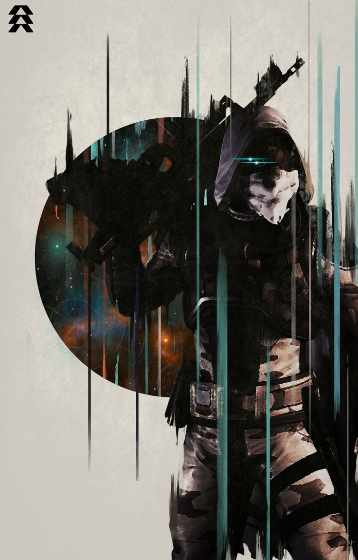 Hunter poster (Destiny)