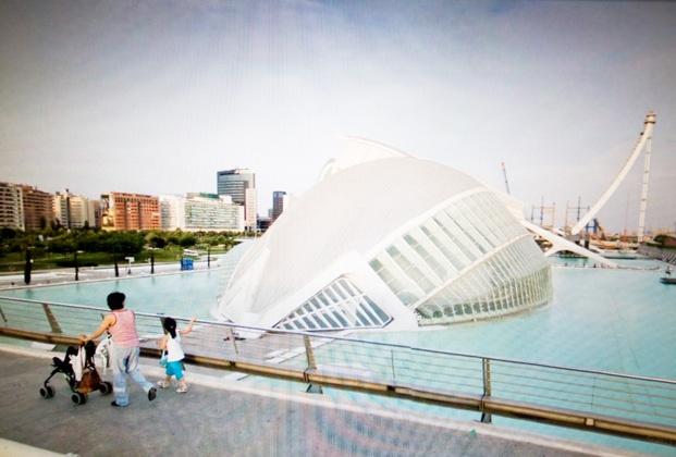Andrea Bosio Ciudad de las Artes y las Ciencias-Valencia-Spain-Santiago Calatrava ivneverbeenthere