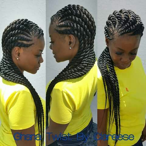 Best 25+ Ghana braids ideas on Pinterest | Black braids ...