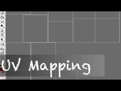 UV Mapping + Photoshop - Autodesk Maya Tutorial - YouTube