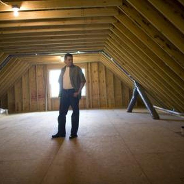Turning an attic into a room requires planning.