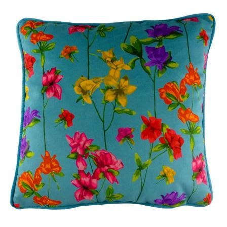 Milly Piped Cushion, Teal, $35 !!