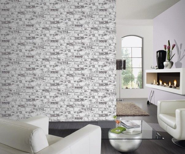53 best Steintapeten Tapeten in Steinoptik images on Pinterest - graue wand und stein